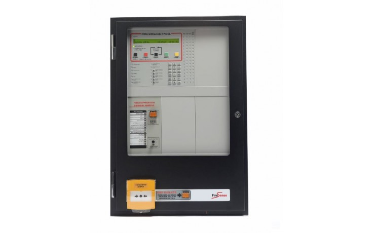 1600 Gas Conventional Fire Panel - 650 CAB - 8 Zone - 11 AMP