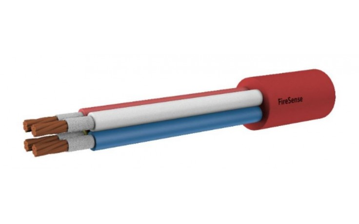 2HR Fire Rated Multi-Core Cable - 2.50mm 3 Core & Earth