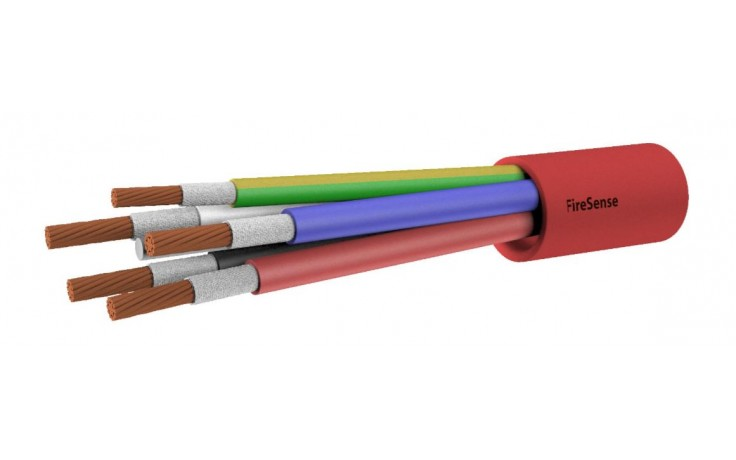 2HR Fire Rated Multi-Core Cable - 10mm 4 Core & Earth