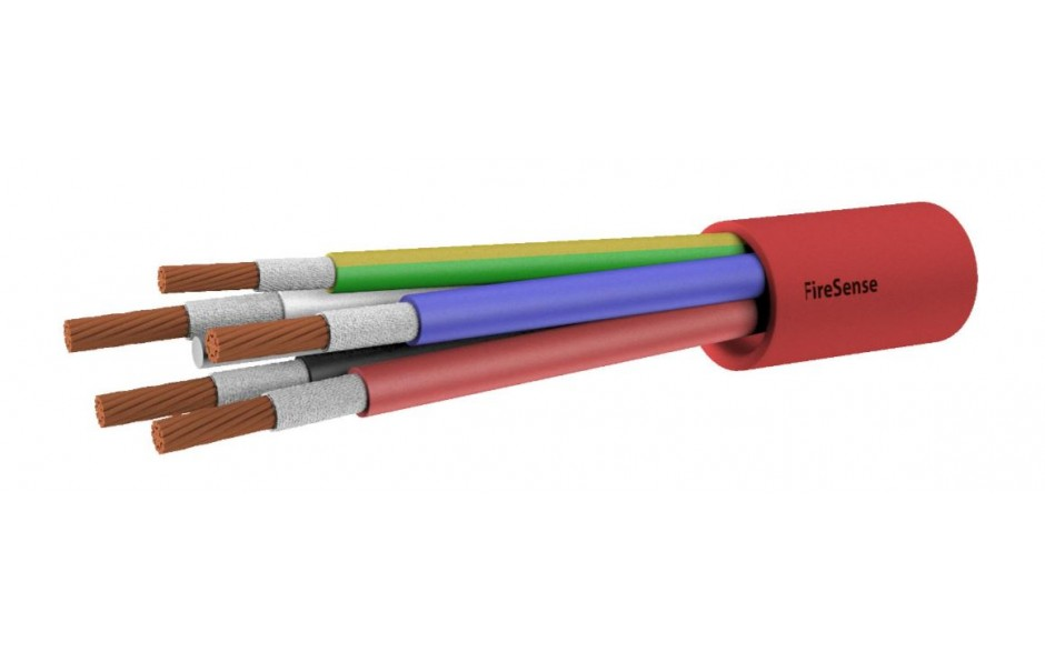 2HR Fire Rated Multi-Core Cable - 16mm 4 Core & Earth