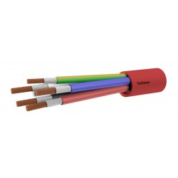 2HR Fire Rated Multi-Core Cable - 6.00mm 4 Core & Earth