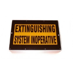 """Warning Sign - """"System Inoperative"""" - Complete"""
