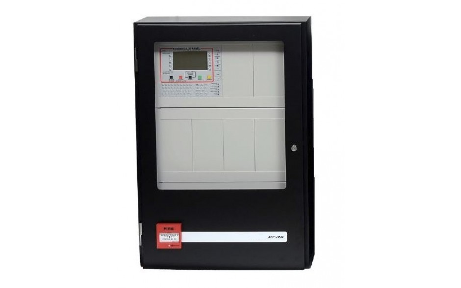 3030 Addressable Fire Panel - 18U CAB - 1 Loop - 11A