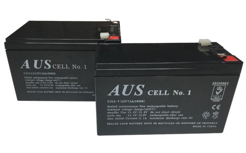 Battery Sets - 2 x 12V