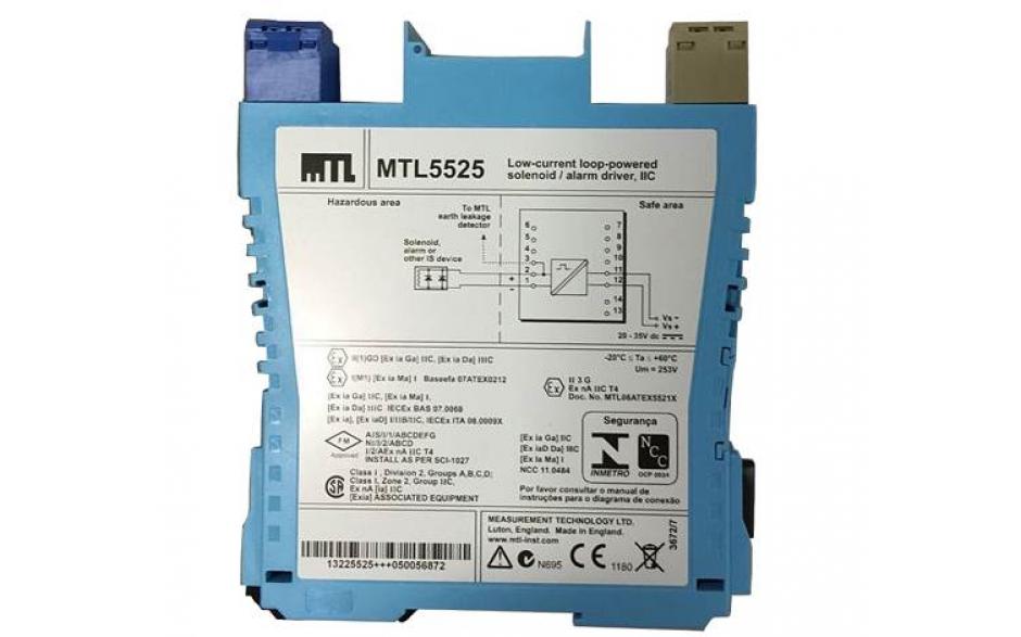 MTL5525 Solenoid Alarm Driver
