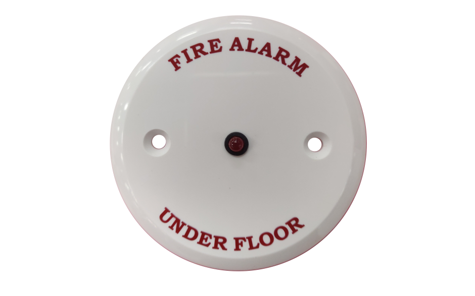 "Remote Indicator - ""Fire Alarm Under Floor"""
