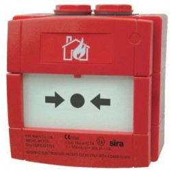 Break Glass - Red - Intrinsically Safe - IP67 (KAC)