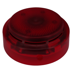 FlashScan Addressable Wall Mount Strobe - Red