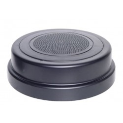 ONESHOT 100mm Surface Mount Black Speaker & Grill