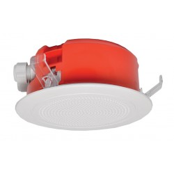 AS7240 Approved Ceiling Speaker w/ Low Profile Plastic Grill
