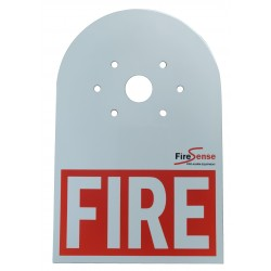 Brigade Strobe Label - FIRE