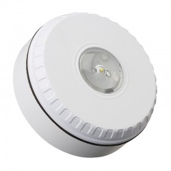 AS7240 Approved - Solista Ceiling Strobe - White