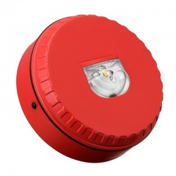 AS7240 Approved - Solista Wall Strobe - Red